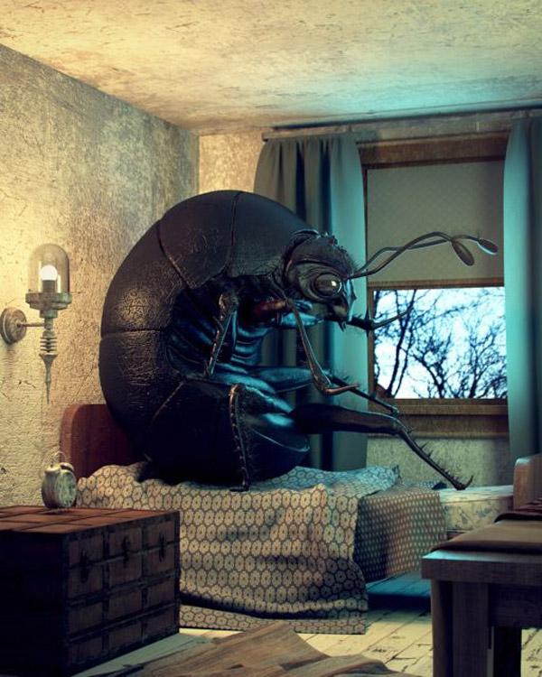 Gregor Samsa en 3D