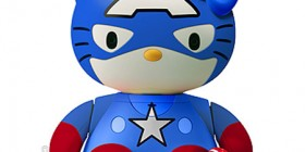 Hello Kitty: Capitán América