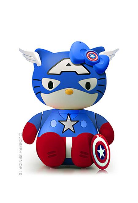 Hello Kitty: Capitán América