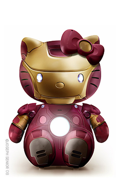Hello Kitty: Iron Man