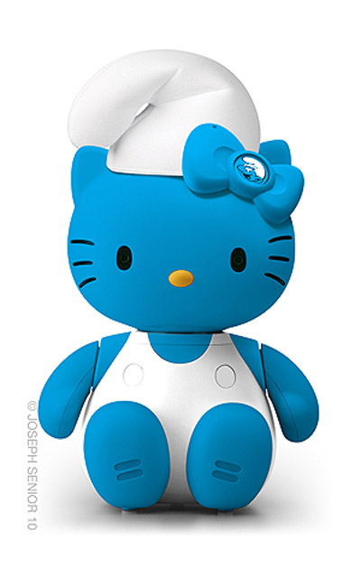 Hello Kitty: Pitufo