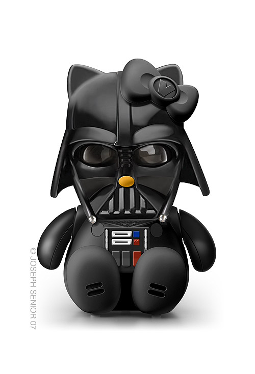 Hello Kitty como Darth Vader