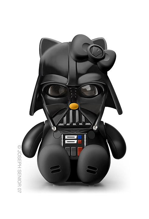 Hello Kitty como Darth Vader