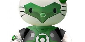Hello Kitty como Linterna Verde