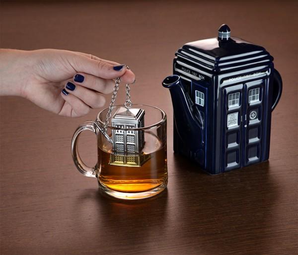 Infusionador de té para fans de Doctor Who