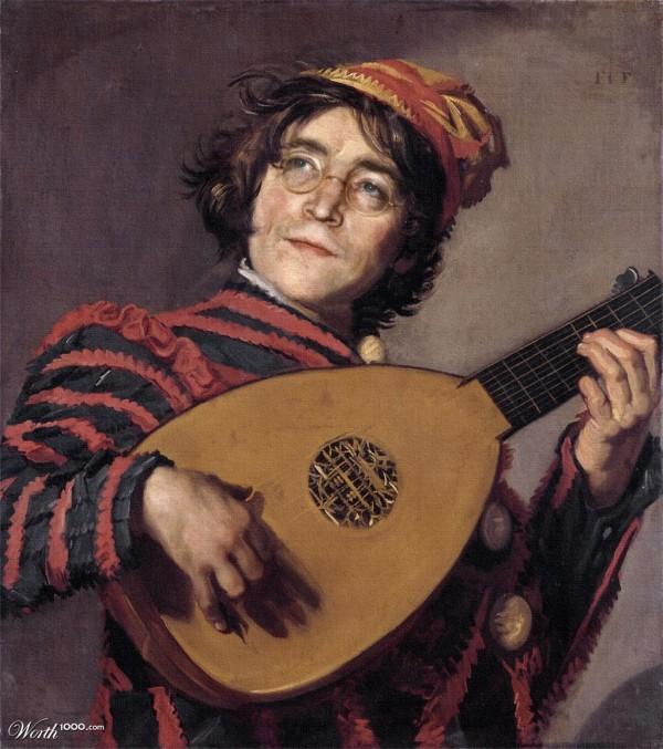 John Lennon en el Renacimiento