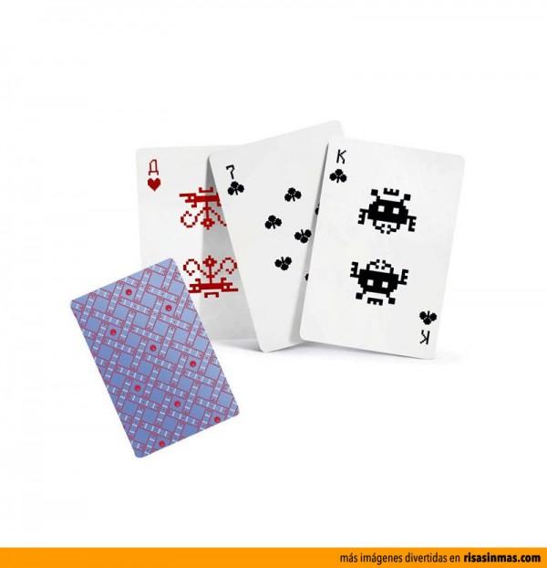 Juego de cartas Space Invaders