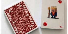 Juego de cartas pixeladas