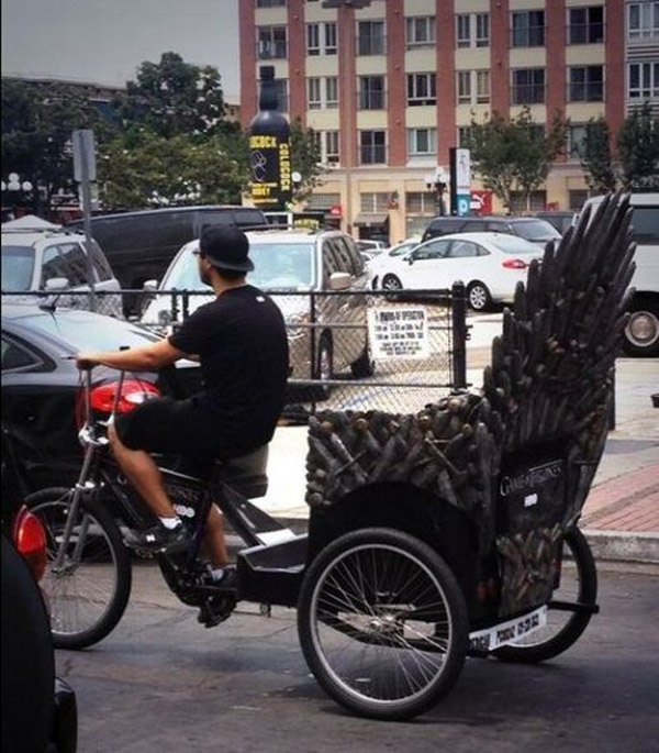 Juego de tronos sobre ruedas