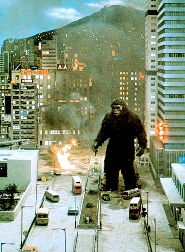 Terrorífica imagen de King Kong 2