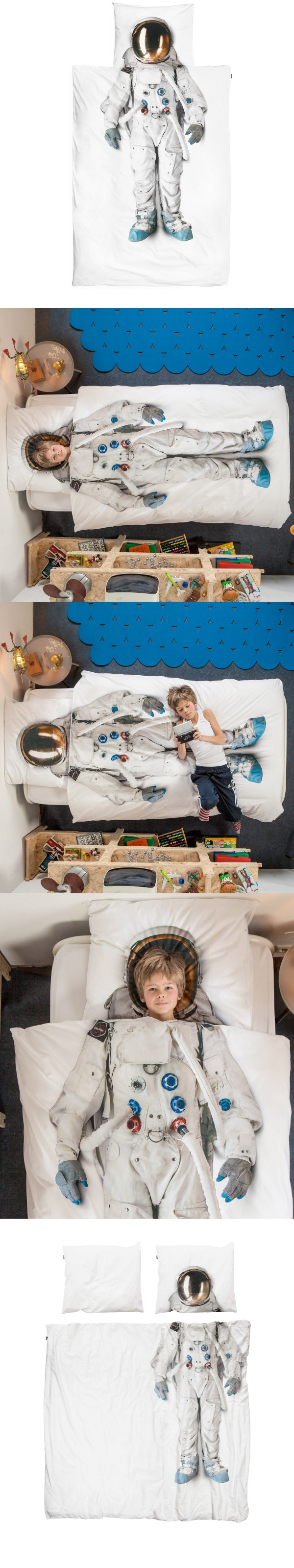 La cama de un astronauta