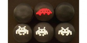 La partida de Space Invaders más dulce