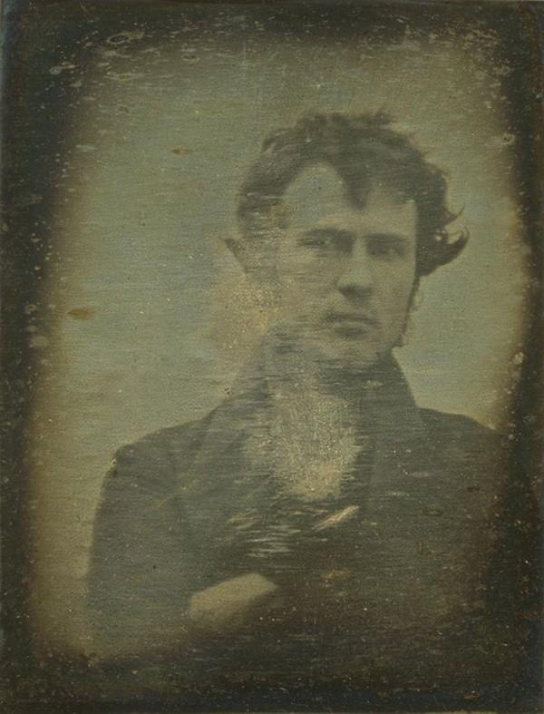La primera autofoto de la historia