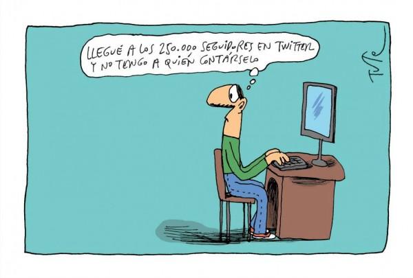 La soledad de las redes sociales