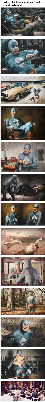 La vida y obra de un superhéroe envejecido