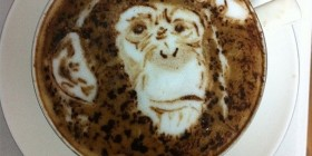 Latte Art: Chimpance