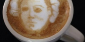 Latte Art: Mike Myers