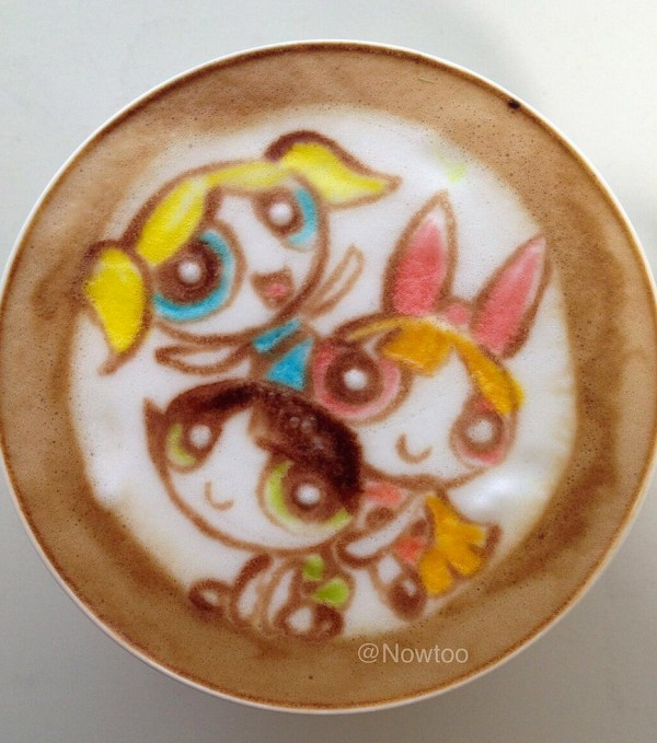 Latte Art: Supernenas