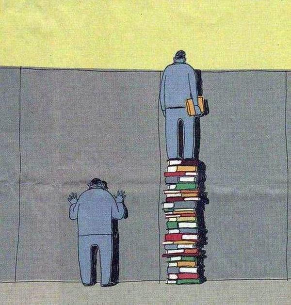 Leer te puede ayudar a verlo todo mejor