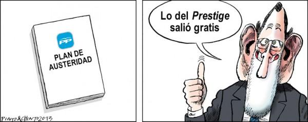 Lo del Prestige salió gratis
