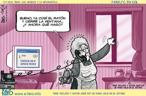 Los abuelos y la informática