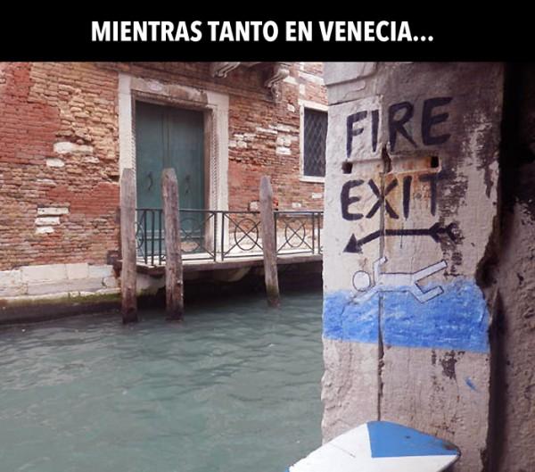 Mientras tanto en Venecia...