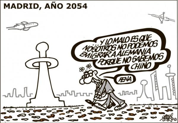 Madrid año 2054