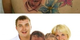 Me he tatuado a mis hijos