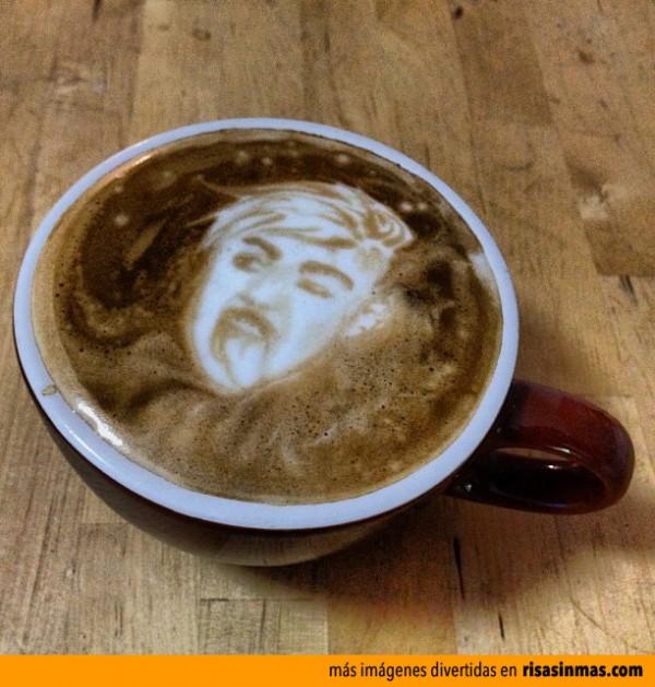 ¡Miley Cyrus en mi café!