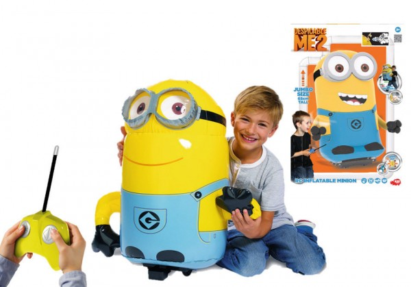 Minion inflable por radiocontrol