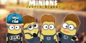 Minions Justin Bieber