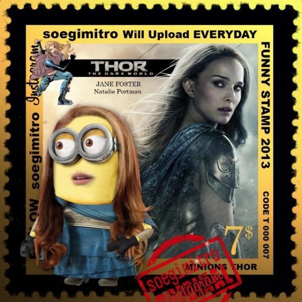 Minions Thor 2: Jane Foster