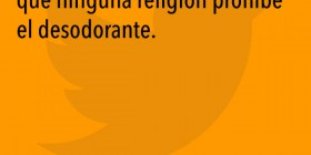 Ninguna religión prohibe el desodorante
