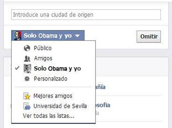 Nuevos permisos para compartir en Facebook
