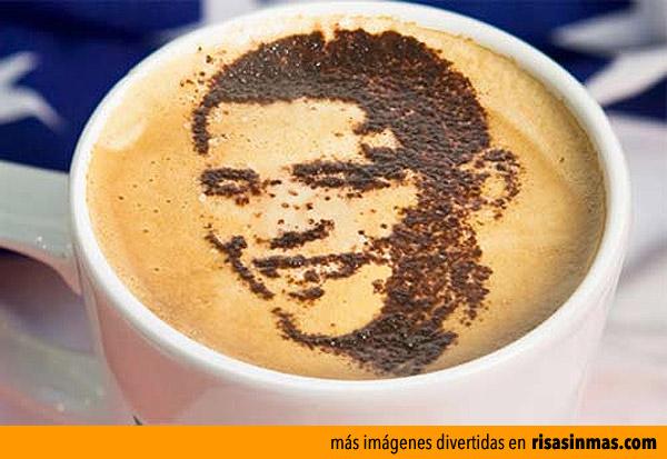 ¡Obama en mi café!