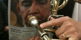 Obama en su faceta musical