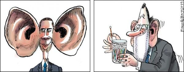 Obama y sus escuchas