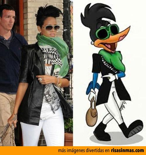 Parecidos razonables: Rihanna