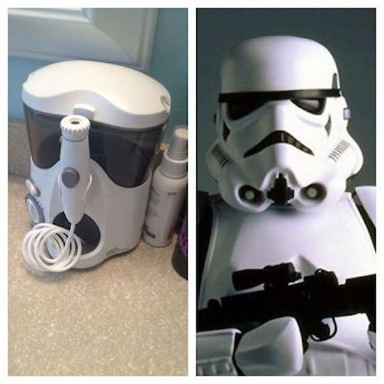 Parecidos razonables: stormtrooper