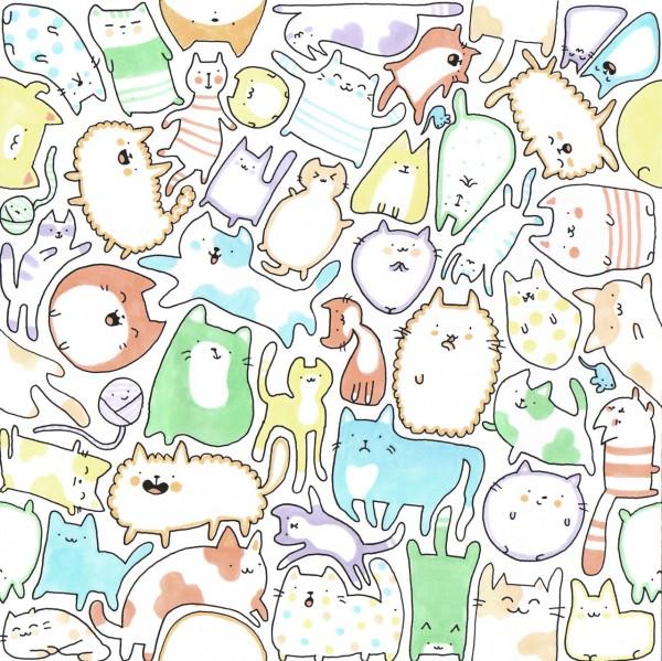 Pasatiempo del día: ¿Cuántos gatos ves?