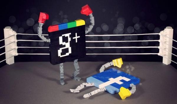 Pelea Google plus vs Facebook