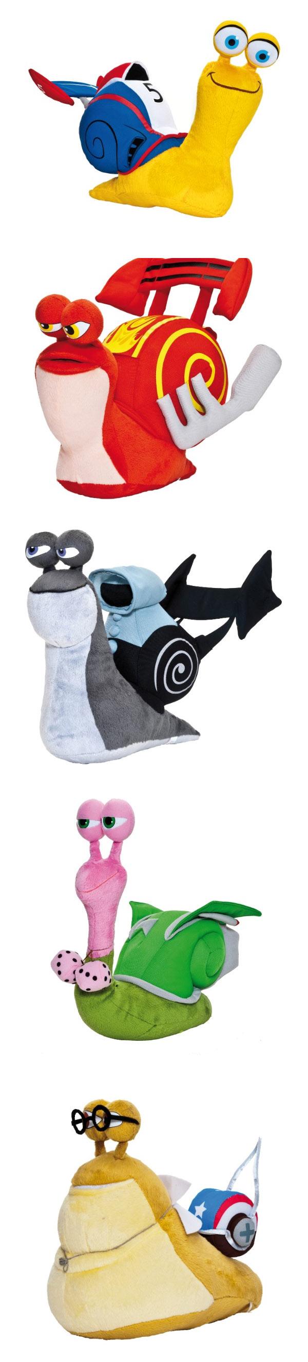 Peluches de Turbo