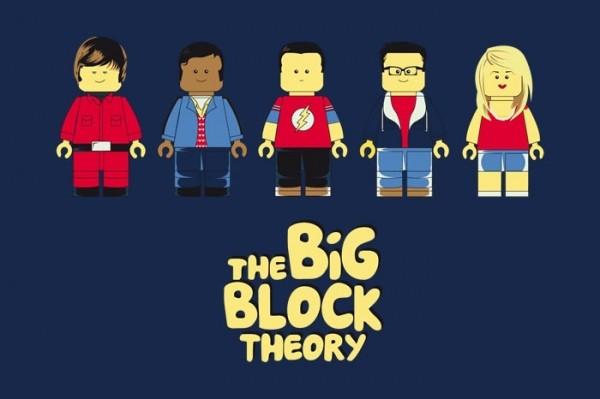Personajes de The Big Bang Theory versión LEGO