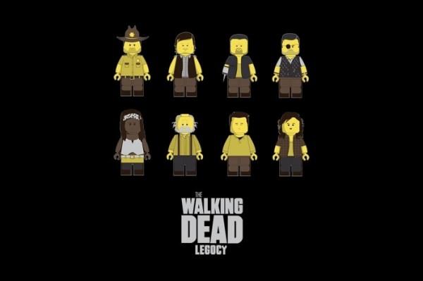 Personajes de The Walking Dead versión LEGO