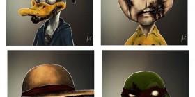 Personajes de cómics zombies