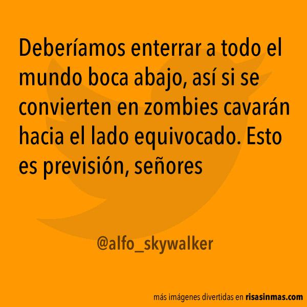 Previsión contra zombies