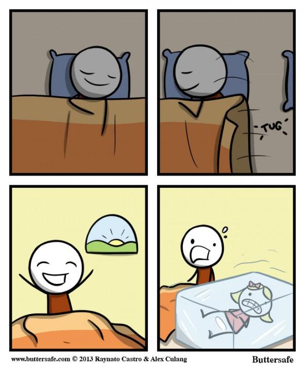 Qué bien he dormido hoy