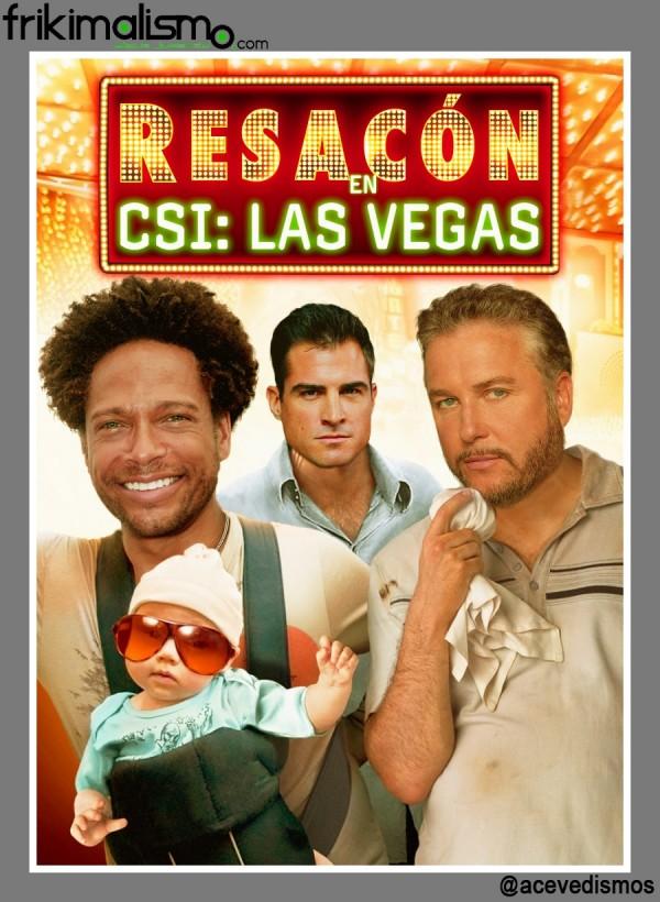 Resacón en CSI: Las Vegas