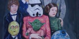 Retrato de familia de Star Wars