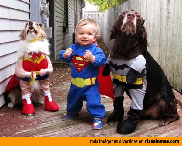Reunión de superhéroes